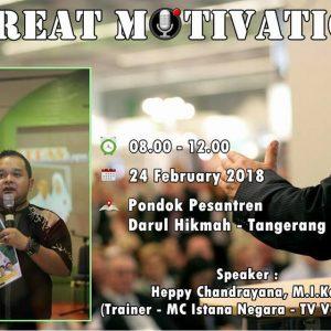 Seminar Motivasi 07